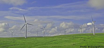 Sweden set to break wind farm record
