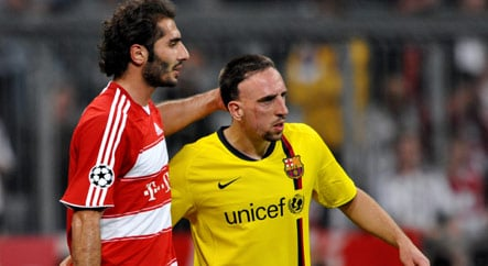 Bayern's Ribery fuels speculation on switch to Barcelona