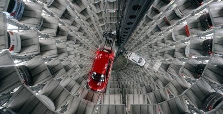VW profits crash