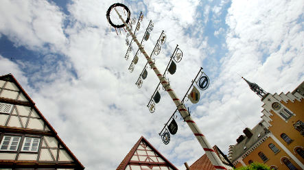 Germans to erect 46,000 maypoles this spring