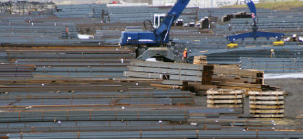 Industrial output decline slowed in February