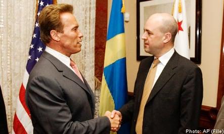 Secret meeting behind jail transfer: Reinfeldt