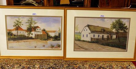 Hitler watercolors fetch €32,000