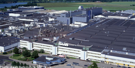 Suitors tour Saab headquarters