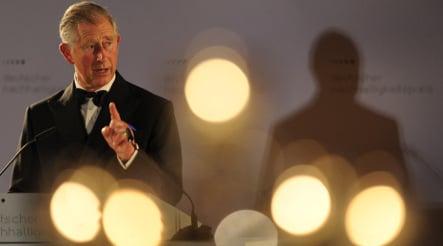 Prince Charles receives German environment award
