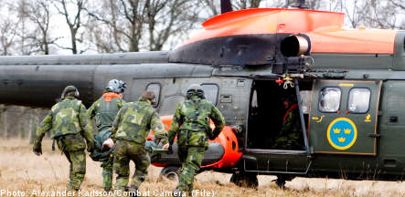 Military agencies threatened by 3 billion kronor in cuts