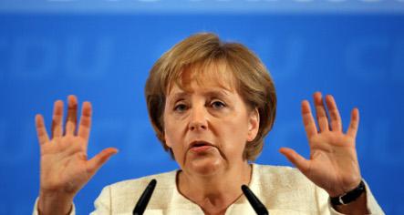Merkel attacks British eurosceptics