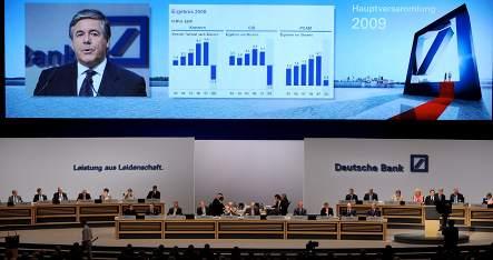 Deutsche Bank spied on shareholders