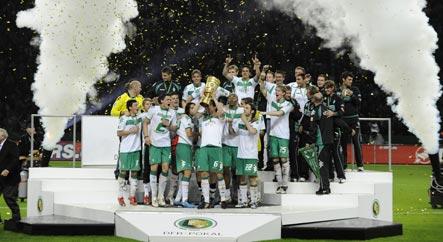 Werder beats Bayer to hoist German Cup