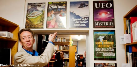 Swedish group opens 'world's largest' UFO archive