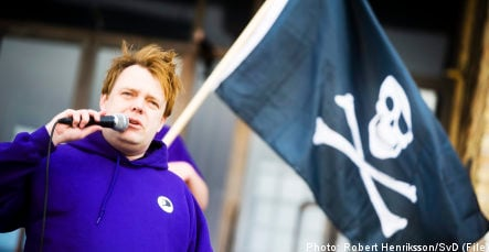Pirate Party Sweden's third-largest ahead of EU vote: study