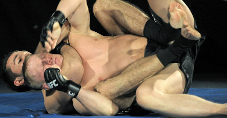 Germany tries to clobber first Ultimate Fighting event