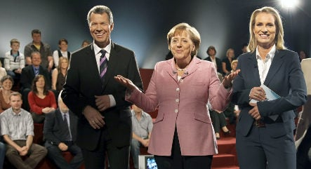 Critics not impressed with Merkel's first town hall meeting