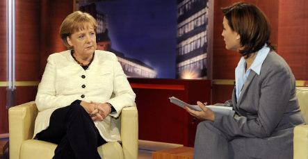 Merkel defends her East German past