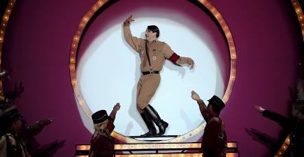 Singing and dancing Hitler a hit in Berlin