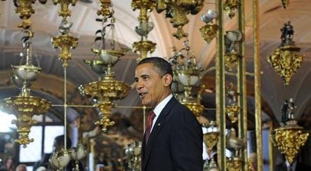Seventeen-hour Obama visit costs Saxony €13 million