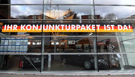 Bundesbank sees economy shrinking 6.2 percent in 2009
