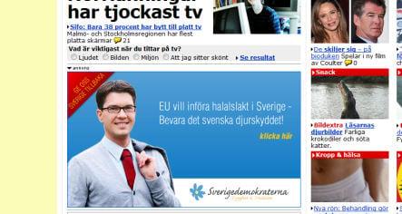 Paper uses Sweden Democrat ad money to fight racism