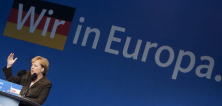 Merkel's CDU trounces SPD in European vote