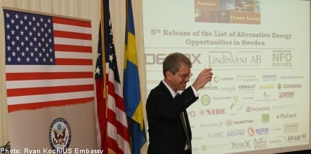 US embassy expands 'A-List' of Swedish clean tech firms