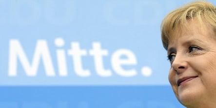 Merkel says EU vote boosts reelection hopes