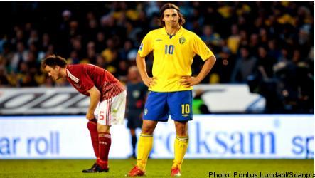 Danes rain on Swedish World Cup parade