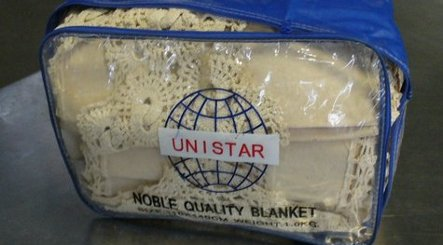 Cocaine-soaked tablecloths found by Munich airport customs