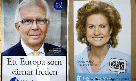 Svensson and Corazza Bildt set to stage election upset