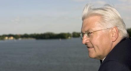 Steinmeier tells the secret of his silver hair