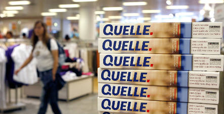 Printer refuses to deliver new Quelle catalogues