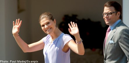 Princess Victoria brings birthday fever to Swedish island