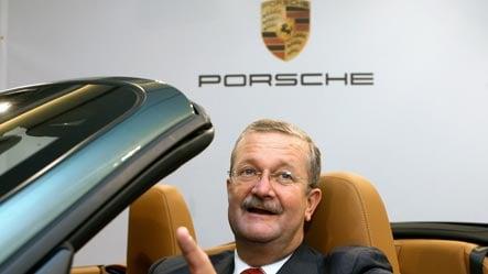 Porsche reportedly set to dump Wiedeking