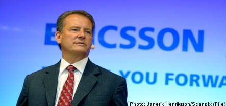 Ericsson's quarterly profits plummet