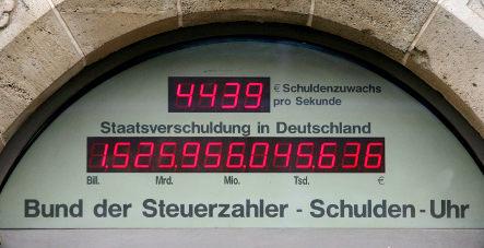Germany faces massive national debt