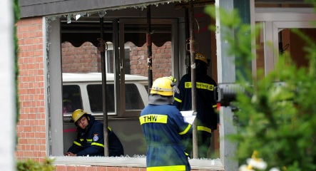 Ground collapse forces home evacuation