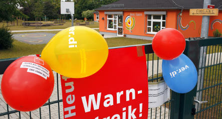 Child care workers strike again in Stuttgart