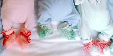 Rare identical triplets born in Bonn
