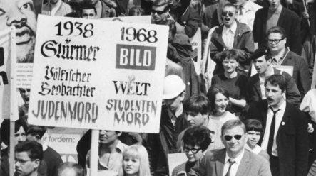 Axel Springer planning tribunal with 68er radicals