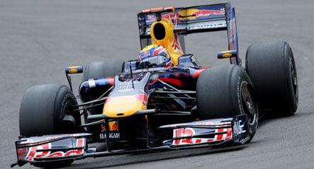 Webber grabs pole for German Grand Prix