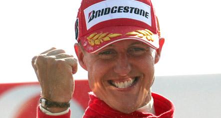Schumacher returns to race for Ferrari
