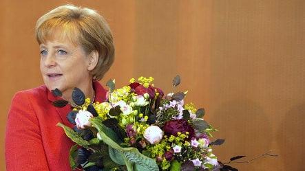 Majority of Germans think Merkel will win re-election