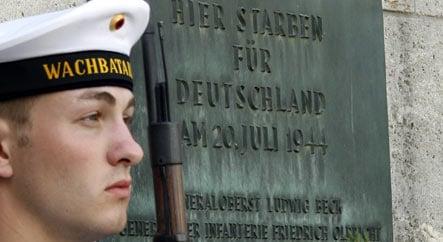 Failed bomb plot to kill Hitler remembered