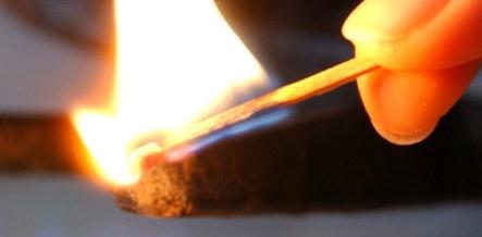 Teens set fire to sleeping drunk