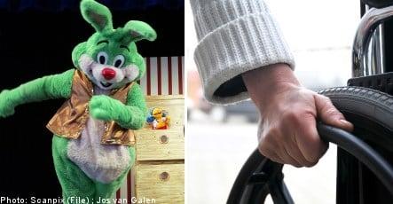 Bunny pic unmasks Swedish benefits cheat