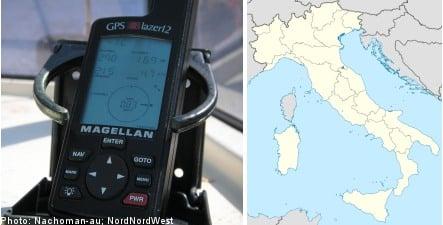 GPS mix up sends Swedish couple on impromptu Italian odessy