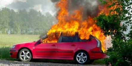 Apple iPod suspected in bizarre Swedish car fire