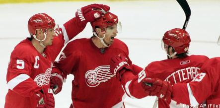 Stockholm to host Detroit Red Wings NHL opener
