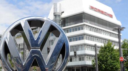 Volkswagen takes the wheel at Porsche
