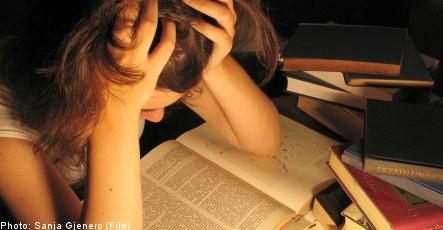 Suicide risk rises as grades sink: study