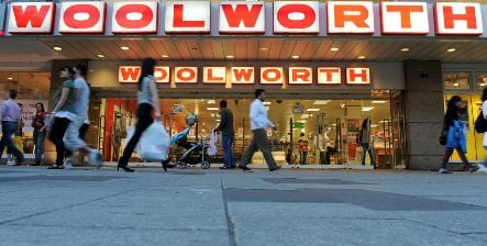 German Woolworth chain on verge of bankruptcy